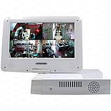 4-х канальный AHD видеорегистратор 960P 1аудио HDMI VGA с монитором , фото 3