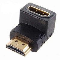 Переходник  HDMI M-HDMI F угловой 90 градусов
