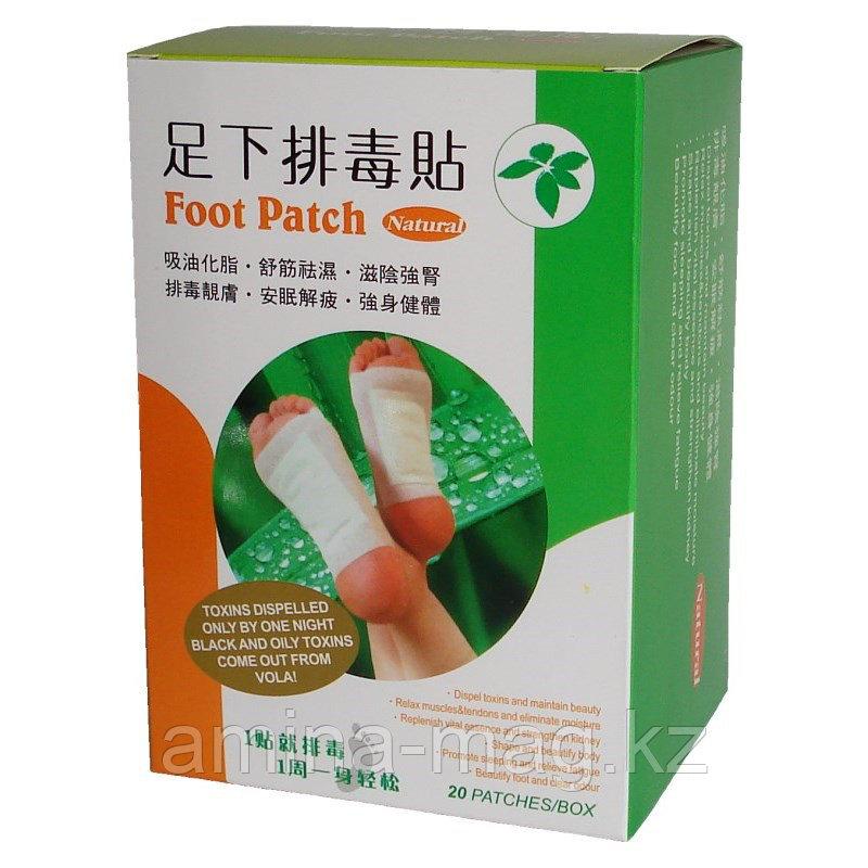 """Пластыри  """"FOOT PATCH"""" для выведения токсинов из организма"""