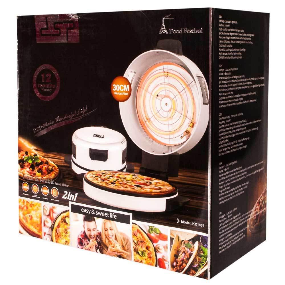 Мини-печь электрическая для приготовления пиццы Pizza Maker