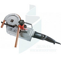 Электрический трубогиб Rothenberger Robend 4000, гибочные сегменты 15 - 18 - 22 - 28 мм, пластик.ящик