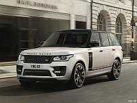 Обвес SVO на Range Rover Vogue, фото 1
