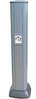 DKC Алюминиевая колонна 0,71 м, цвет темно-серебристый металлик