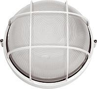 Светильник НПБ 1308 белый/круг реш.крупная 60Вт (ИЭК)