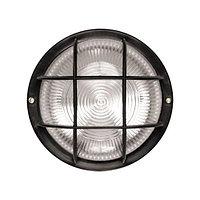 Светильник НПБ 1308 черный/круг реш.крупная 60Вт (ИЭК)