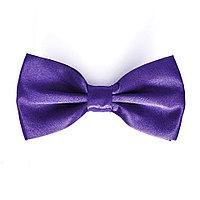 Галстук бабочка на вечеринку (фиолетовая)