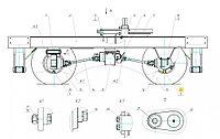 Подвеска МГН-1.10.000 (вилка) для ЭО-3323