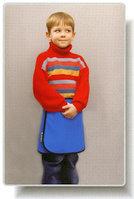Юбка рентгенозащитная детская Ренекс ЮРд-0, 5 мм