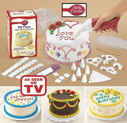 Набор для украшения тортов из 100 предметов (DECORATING KIT)
