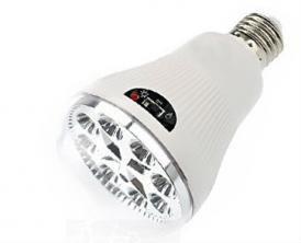 Светодиодная LED лампа Lux с аккумулятором и с пультом д/у, фото 2