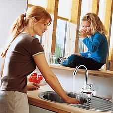 Проточный цифровой мгновенный кран водонагреватель, фото 3