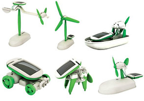 Конструктор робот-трансформер на солнечной батарее 6 в 1, фото 2