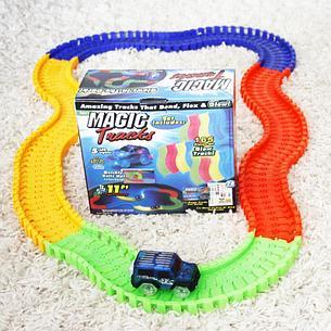 Детская игрушечная дорога Magic Tracks 165 деталей + машинка, фото 2