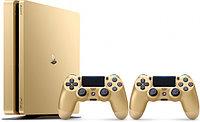 PlayStation 4 SLIM 500GB Золотой 2 Джойстика , фото 1