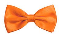 Галстук бабочка на вечеринку (оранжевая)