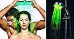 Оригинальная светодиодная насадка на душ сделает Вашу жизнь ярче.