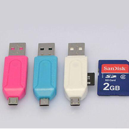 Card Reader Карт Ридер Адаптер USB 2.0 Micro USB