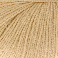 Пряжа 'Baby Wool' 20 кашемир, 40 меринос. шерсть, 40 акрил 175м/50гр (829 молочный) (комплект из 5 шт.)