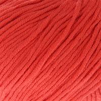 Пряжа 'Baby Cotton XL' 50 хлопок, 50 полиакрил 105м/50гр (3418 коралловый) (комплект из 5 шт.)