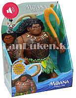 Музыкальная кукла полубог Мауи с крюком (высота 21 см)