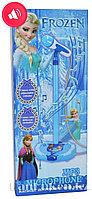 Детский караоке микрофон со стойкой Холодное сердце (Frozen)
