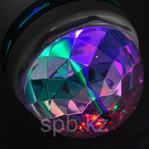Светодиодная лампочка-цветомузыка