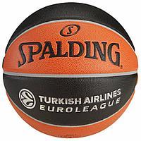 Мяч баскетбольный Spalding TF-1000 EUROLEAGUE OFFICIAL 74-538Z, фото 1