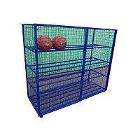 Шкаф для спорт инвентаря 140х220х60 К281