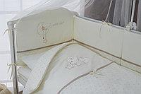 Постельное белье Perina Le Petit Bebe Молочно-кофейный 6 предметов