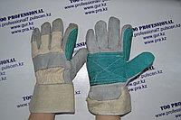 Перчатки комбинированные спилковые Докер