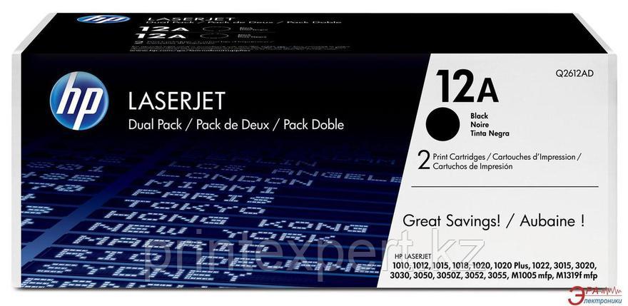 Заправка картриджа HP Q2612A 12A, фото 2