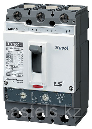 Автоматический выключатель TS100N ETS23 80A 3P EXP, фото 2