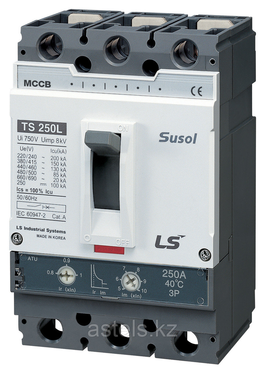 Автоматический выключатель TS250N FMU250 125A 3P EXP