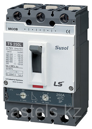 Автоматический выключатель TS250N FMU250 125A 3P EXP, фото 2