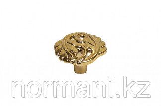 Мебельная ручка для кухни золото темное металлик