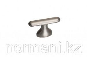 Мебельная ручка кнопка, замак, размер посадки 16мм, отделка никель