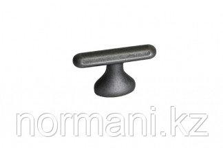 Ручка-кнопка 16мм, отделка железо античное