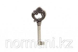 Ключ, отделка старое серебро с блеском