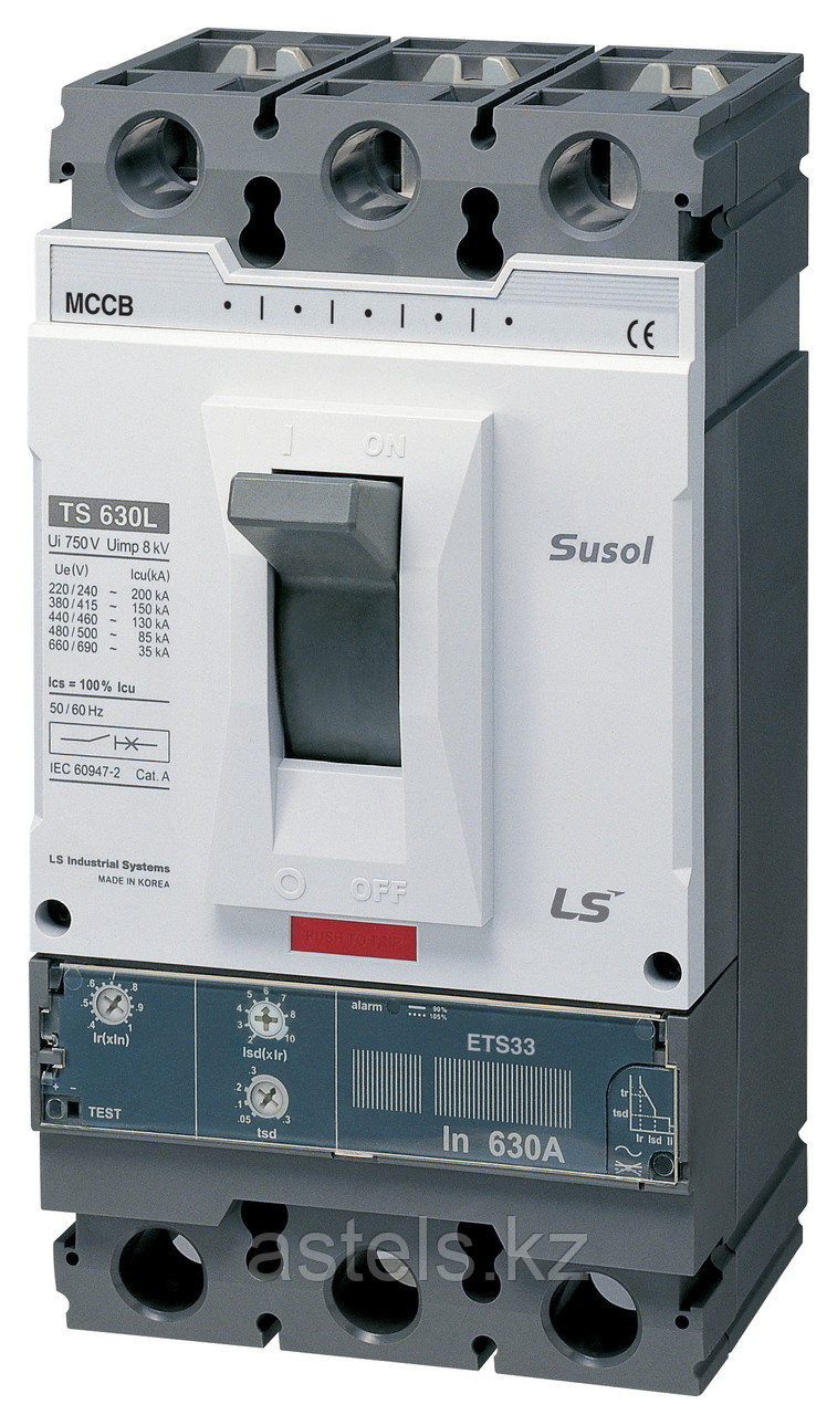 Автоматический выключатель TS630N ETS33 630A 3P EXP