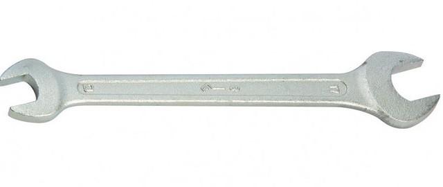 Ключ рожковый, 30 х 32 мм, оцинкованный (КЗСМИ)// Россия