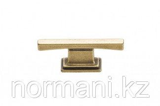 Мебельная кнопка, замак, размер посадки 16 мм, цвет бронза матовая