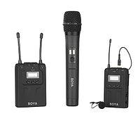 Беспроводной комплект радиомикрофонов Boya BY-WM8+BY-WHM8