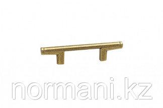 Ручка-скоба 96мм, отделка бронза натуральная