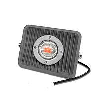 Фитопрожектор полного спектра для теплиц 50W c линзой 60° с матрицей BridgeLux, фото 1