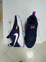Баскетбольные кроссовки Nike PG1 from Paul George синие, фото 2