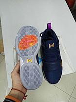 Баскетбольные кроссовки Nike PG1 from Paul George синие, фото 3