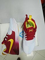 Баскетбольные кроссовки Nike PG1 from Paul George бело-красные, фото 2