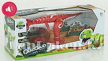 Робот динозавр (красный)