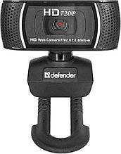 Defender 63197 Веб-камера G-lens 2597 HD 720p, 2 МП, автофокус, автослежение
