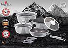 Набор посуды Berlinger Haus с гранитным покрытием Granit Diamond Line 11 пр., фото 2